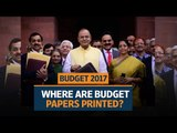 Budget 2017: Where are budget papers printed?