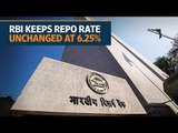 RBI keeps repo rate unchanged at 6.25% after monetary policy meeting