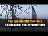 New opportunities for India as Iran curbs nuclear ambitions