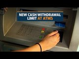 RBI raises cash withdrawal limit at ATMs to Rs10,000 per day