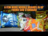 Some noodle brands are sub-standard: UP food safety department