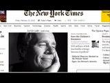 New York Times media columnist David Carr dies at age 58