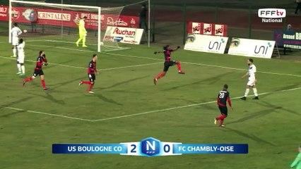 J22 - US Boulogne CO – FC Chambly Oise (2-1), le résumé