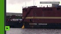 La Russie achève la construction de sa centrale nucléaire flottante à Saint-Pétersbourg