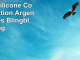 Nokia Lumia 1020 Housse Étui Silicone Coque Protection Argent Paillettes Blingbling