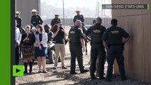 Huit prototypes pour le mur à la frontière du Mexique présentés à San Diego