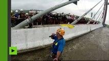 Brésil : 245 personnes sautent à l'élastique en même temps