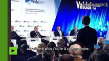 Vladimir Poutine : «Les Etats-Unis sont des partenaires avec qui nous allons collaborer malgré tout»