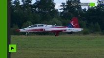 Les patrouilles acrobatiques russes et turques rivalisent d'audace