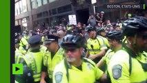 Etats-Unis : accrochages entre policiers et manifestants antiracistes à Boston