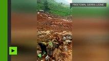 Sierra Leone : 400 morts et 600 personnes portées disparues dans un glissement de terrain