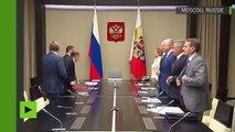 Vladimir Poutine invite le Conseil de sécurité à discuter de la Syrie et des sanctions américaines