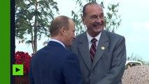 De Jacques Chirac à Emmanuel Macron : Vladimir Poutine va rencontrer un quatrième président français