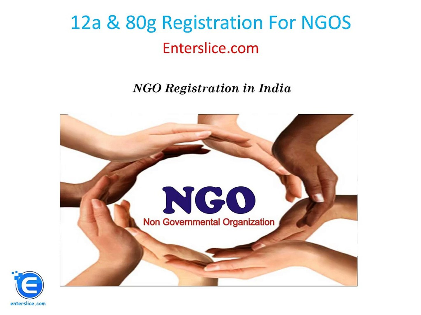 12a 80g Registration For NGOS