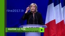 Marine Le Pen dénonce le «mondialisme affairiste» de l'UE et le «mondialisme islamiste»
