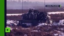 Pologne : 3 500 soldats américains de l'OTAN déployés à Zagan pour des exercices militaires