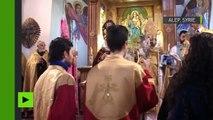 Les parlementaires français fêtent le Noël orthodoxe avec les chrétiens d'Alep