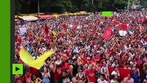 Des milliers de Brésiliens manifestent contre le président Michel Temer