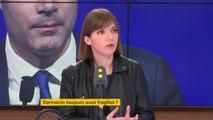 """Plainte pour abus de faiblesse contre Gérald Darmanin : """"Un ministre ne démissionne pas parce qu'il est visé par une plainte. On ne doit pas passer d'une présomption d'innocence à une présomption de culpabilité"""", estime Aurore Bergé, députée LREM"""