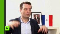 Florian Philippot : «La souveraineté nationale ne se divise pas. Elle est ou elle n'est pas.»