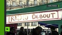 «Nuit Debout» lance une radio et une télévision en ligne pour «réinvestir les médias traditionnels»