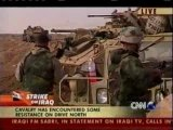 Guerre en Irak, CNN - 24 mars 2003: bataillon américain