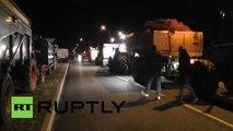 «France, veux-tu encore de nous ?» : des agriculteurs bloquent des entrepôts de Carrefour dans l'Ain