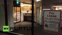 Etats-Unis : des manifestants vandalisent des bâtiments à Portland