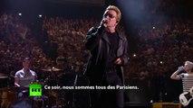 U2 à Paris : «Ce soir, nous sommes tous des Parisiens»