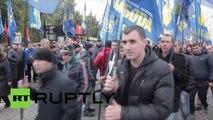 La «Marche des Héros» a rassemblé  à Kiev des milliers d'ultra-nationalistes