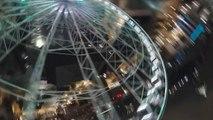Superbes images d'Atlanta par un drone ultra-rapide filmées de nuit !