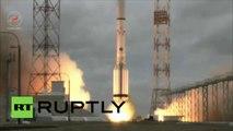Le lancement de la fusée Proton-M
