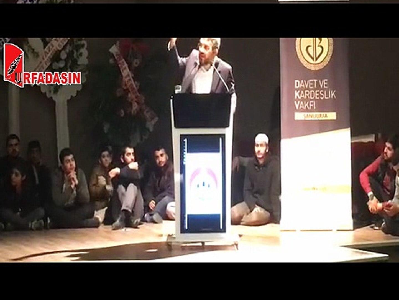 İhsan Şenocak Urfa sohbeti
