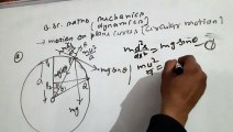 Motion on plane curve (circular motion) bsc dynamics video 15