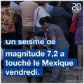 Un séisme de magnitude 7,2 secoue le Mexique