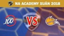 Highlights: 100 Thieves Academy vs Echo Fox Academy | NA Academy League Mùa Xuân 2018