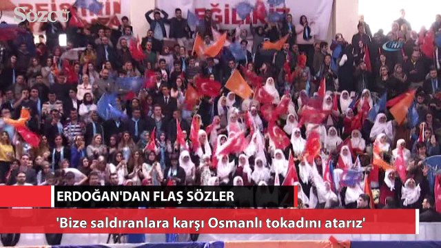Erdoğan'dan Eskişehir Kongresi'nden flaş sözler