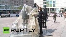 Allemagne: Snowden, Assange et Manning immortalisés dans des monuments aux lanceurs d'alertes