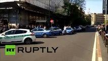 Milan : un entrepreneur tire des coups de feu et tue quatre personnes pendant son procès de faillite