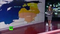 Des véhicules blindés et des soldats américains sont arrivés dans les pays baltes