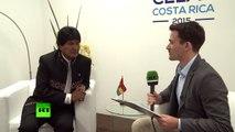 Morales : RT est un porte-voix des peuples du monde et mérite notre admiration
