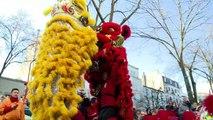 Le nouvel an chinois célébré à Paris