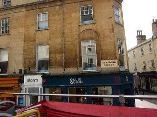 The historic city of Bath
