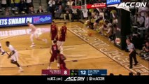 Virginia Tech vs. Georgia Tech Basketball Highlights (2017-18)