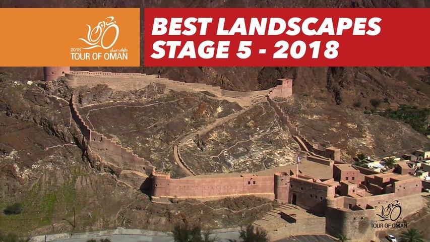 Best landscapes - Stage 5 - Tour of Oman 2018