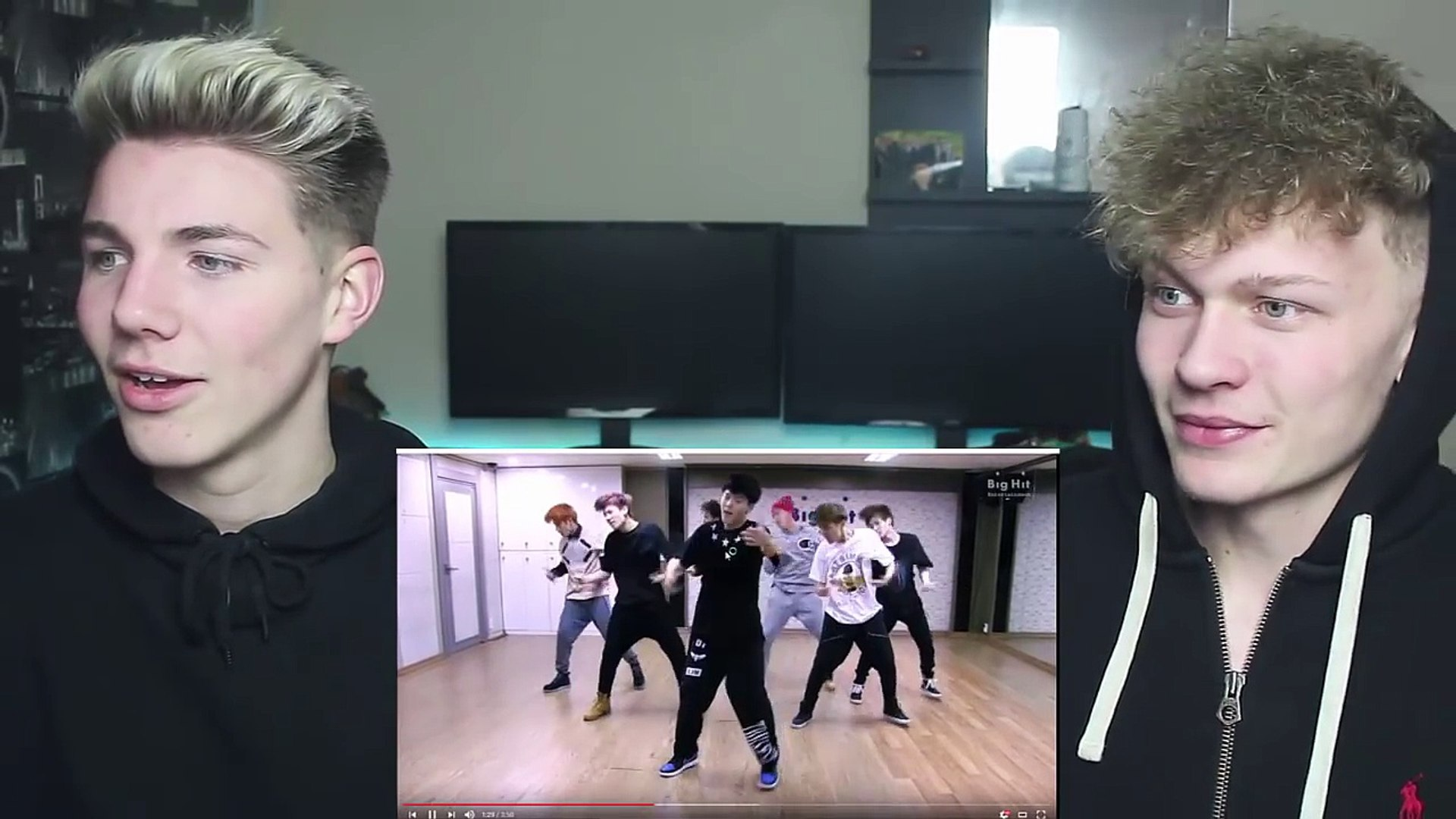 BTS Boy in Luv Dance Practice (NON KPOP DANCERS) REACTION