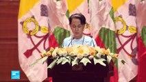 """البابا فرنسيس يلتقي زعيمة بورما ويتجنب ذكر اسم """"الروهينغا"""" في خطابه"""
