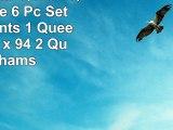 Bingham Star Queen Quilt Bundle  6 Pc Set Set Contents 1 Queen Quilt 94 x 94 2 Queen