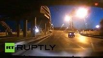 Un enregistreur vidéo a mis en évidence la chute d'une météorite dans l'oblast de Kemerovo