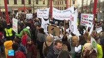 مظاهرات في النمسا ضد الائتلاف الحاكم